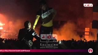رصد | هتافات المتظاهرين ليلاً