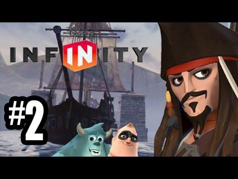 disney infinity gameplay walkthrough part 2 cannon fire 360 ps3 wii u ...