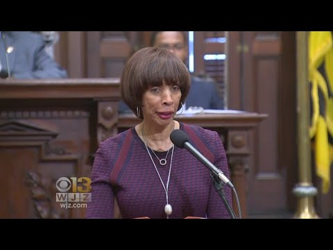 Baltimore Mayor Touts Dropping Violence In 'State Of The City' Speech