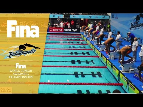 LIVE - Day 3 / Heats - FINA World Junior Swimming Championships