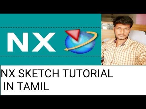 NX SKETCH TUTORIAL NO 2 IN TAMIL Shadow Designer | Tamil thumbnail