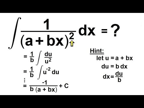 Calculus 2: How Do You Integrate? (38 of 300) Find the
