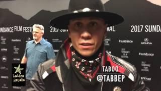 Black Eyed Peas' Taboo at Sundance Film Festival
