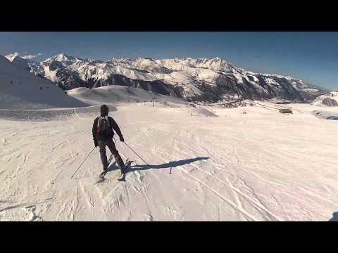 Descente Ski Peyragudes 12/02/12