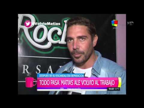 Matías Alé volvió a trabajar: Voy a usar lo del omelette para un unipersonal