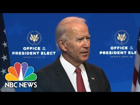 Biden Blasts 'Incredible Irresponsibility' Of Trump's Refusal To Concede | NBC Nightly News