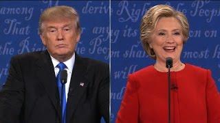 Trump sniffles, Clinton shimmies, internet wins
