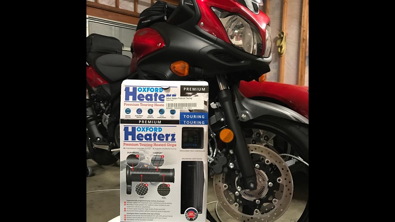 Bikemaster Heated Grips Wiring Diagram Trusted Ski Doo Hot Oxford V Strom 650 Install Youtube Grip Wire Phazer Ll