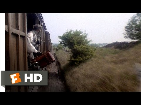 The Great Train Robbery 1012 Movie   Throwing Gold From the Train 1978 HD
