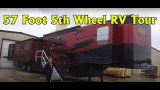 Spacecraft RV Manufacturing 57 foot Custom 5th Wheel RV Coach thumbnail