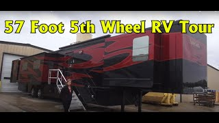 Video Spacecraft RV Manufacturing 57 foot Custom 5th Wheel RV Coach download MP3, 3GP, MP4, WEBM, AVI, FLV April 2018