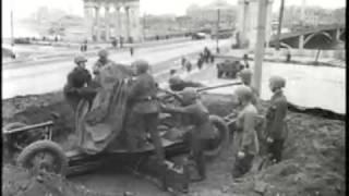 Работа противовоздушной обороны Москвы в годы ВОВ...