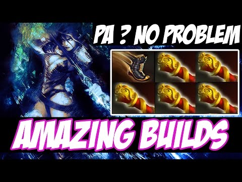 P.A ? NO PROBLEM ! - Drow Ranger WITH 5 MKB - Amazing Builds vol 92 - Dota 2