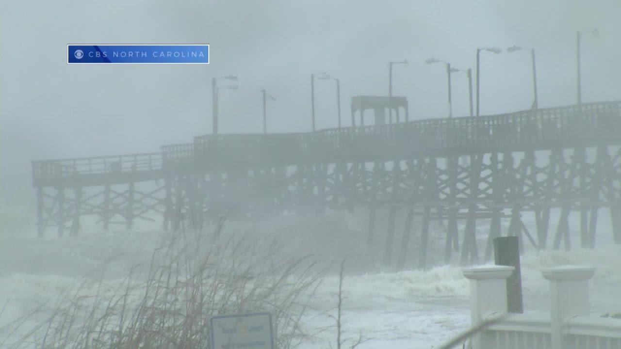 Oak Island Pier Collapse