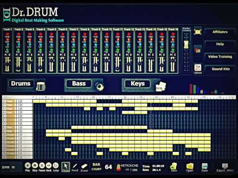 Dr Drum - Make Beats With Keyboard