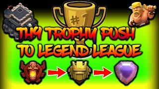 TH9 3 STAR ATTACK STRATEGY | PUSHING TO LEGEND LEAGUE | HOGS ARE GOING WILD in Clash of Clans!!