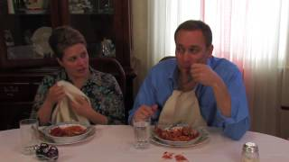 Table Manners Coach: Julie Demonstrates the Spaghetti Twirl