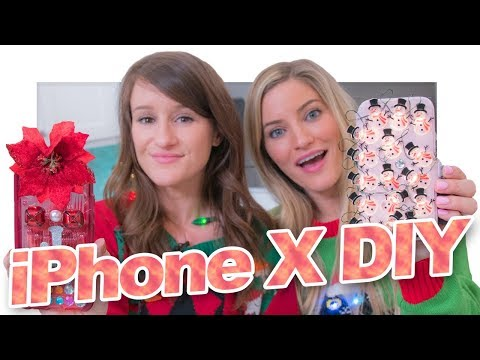 Download Youtube: iPhone X DIY Holiday Cases!