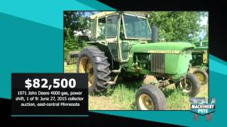 Machinery Pete: Recent Auction Sale Price Highlights July 2015