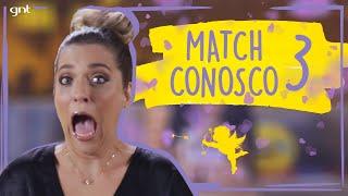 Júlia Rabello e as cartas formam casais (ou não) no Match Conosco 3 | Fale Conosco