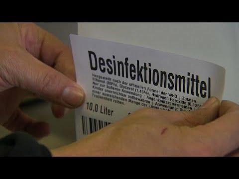 euronews (deutsch): Hochprozentige Hilfe: In Lustenau wird aus Schnaps Desinfektionsmittel