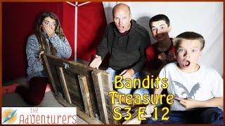 Opening The Bandits Treasure In Our Top Secret Hideout - Bandits Treasure S3 E12
