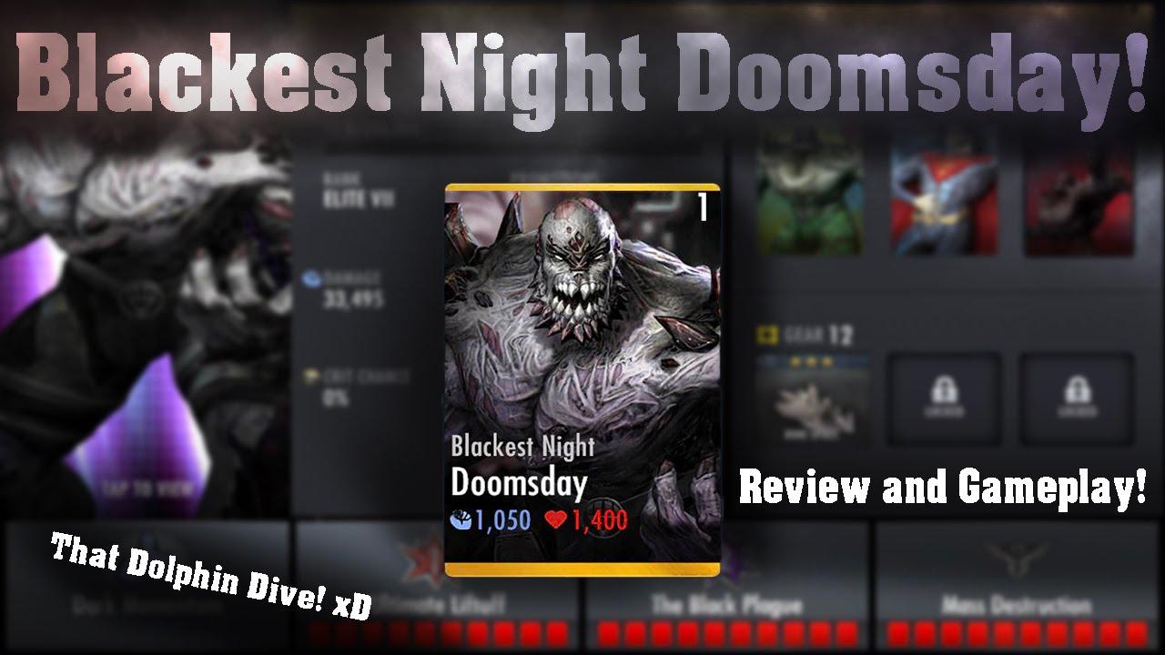 Blackest Night Doomsday Review! Injustice Gods Among Us 2