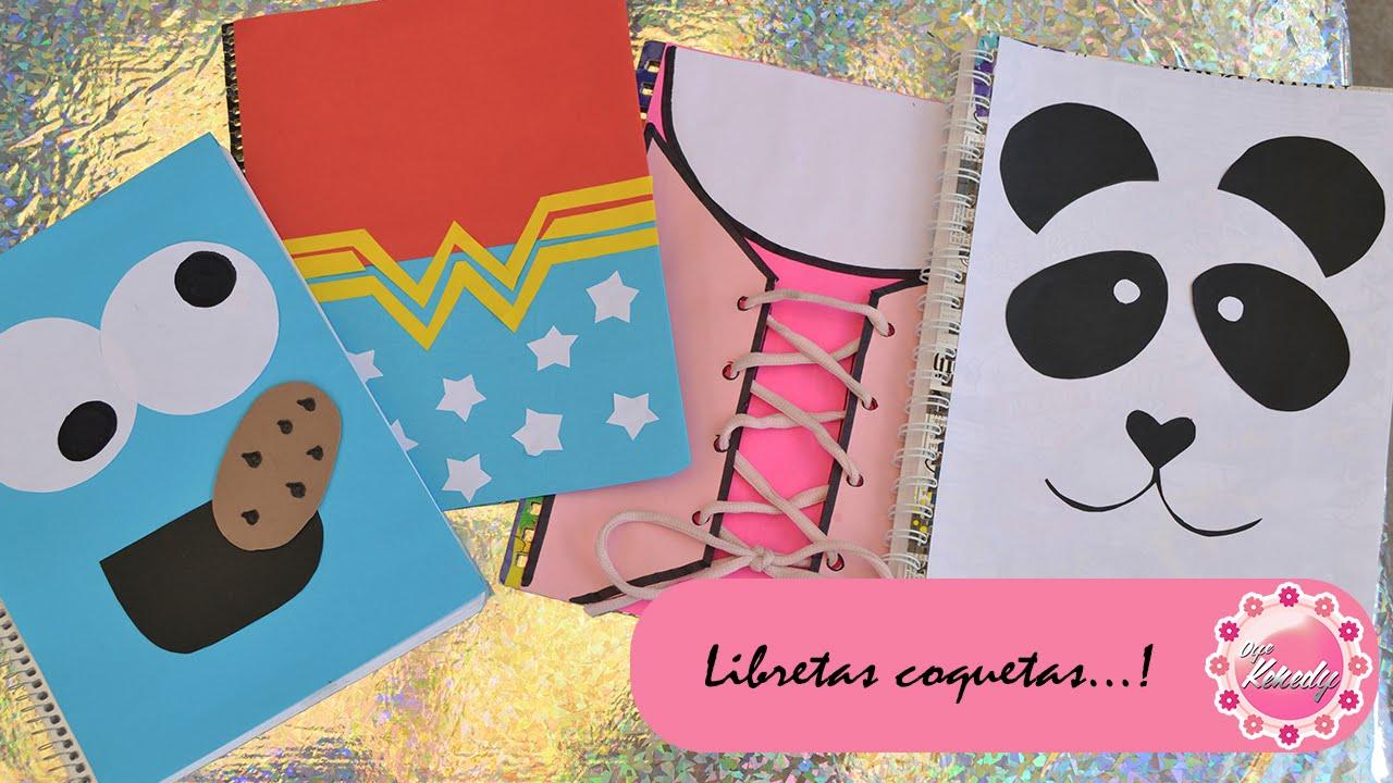 Decora tus cuadernos 4 ideas youtube - Fotografias para decorar ...