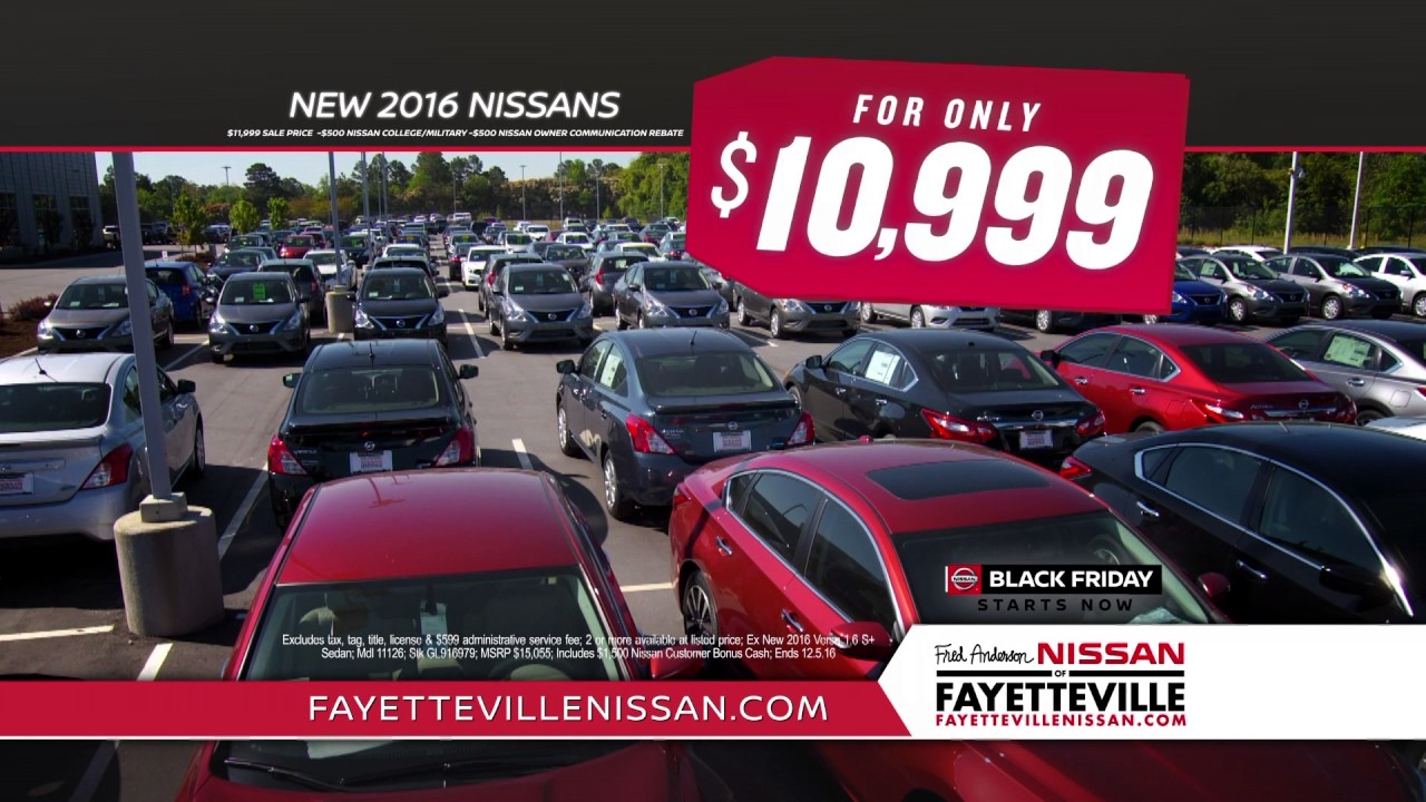 Fred Anderson Nissan of Fayetteville - Nissans - YouTube