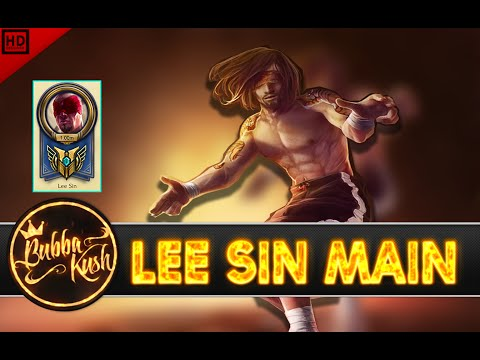 """Bubba Kush """"lee Sin Main"""" Compilation   1 MILLION """"mastery Points""""- league of legends"""