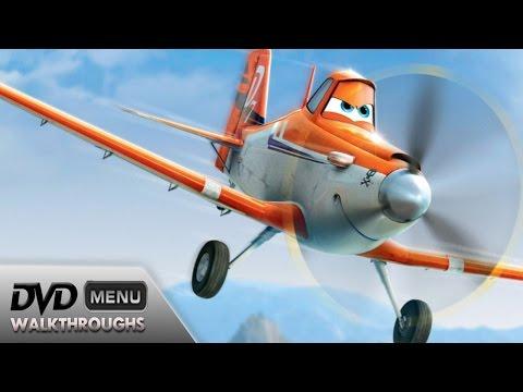 Planes (2013) DvD Menu Walkthrough
