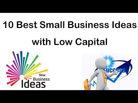 10 Best Small Business Ideas with Low Capital