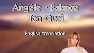 Gambar cover Angèle - Balance Ton Quoi (English translation)