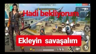 FREE FİRE ACEMİ ÇOCUK  (SİZİNLE OYNAYALIM )
