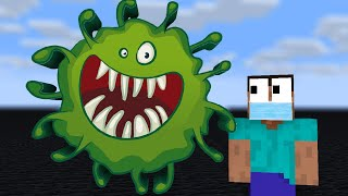 Monster School : WILL FIGHT VIRUS COVID-19 Challenge  - Minecraft Animation