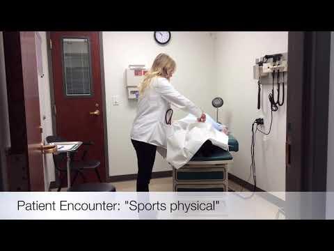 KCU CSR Patient Simulation Sports Physical
