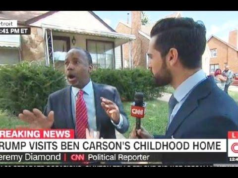 'My Luggage!': Ben Carson Runs Off Live CNN Interview