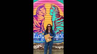 """Time Spent With Cats Is Never Wasted,"" the Highlands-Liz Richter Louisville Mural Art Tour"