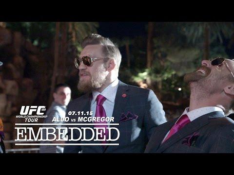UFC 189 World Championship Tour Embedded: Vlog Series - Episode 3