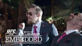 UFC 189 World Championship Tour Embedded: Vlog Series - Episode 3