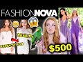 FASHION NOVA HAUL | $500 FASHION NOVA TRY ON HAUL & WEAR TEST 2019