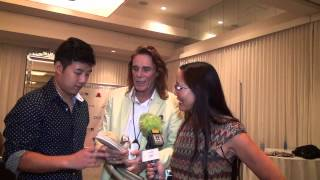 Joy and Mario Footwear & George Blodwell - Red Carpet Events LA Teen Choice Awards Lounge 2014 Thumbnail