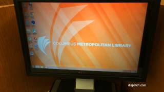 Library patrons can surf web freely with screens