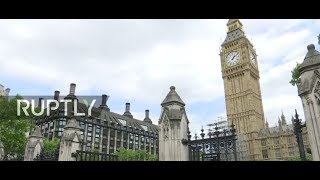 LIVE from London after man arrested at gunpoint outside British Parliament