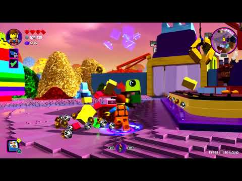 The Lego Movie 2 Part 5 Videogame Full Game PS4 PRO