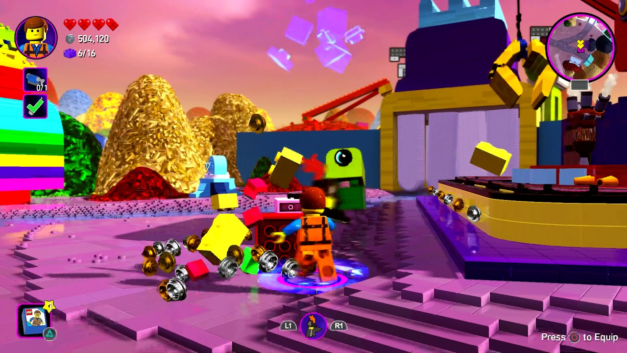The Lego Movie 2 Part 5 Videogame Full Game Ps4 Pro Youtube