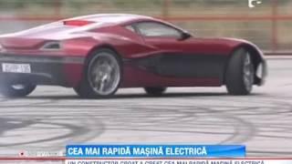 Cea mai rapida masina electrica din lume