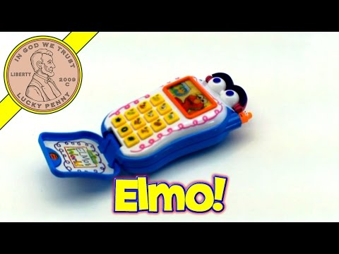 Mattel Sesame Street Elmo Talking Cell Phone Musical Baby Toy Kids Toy Reviews