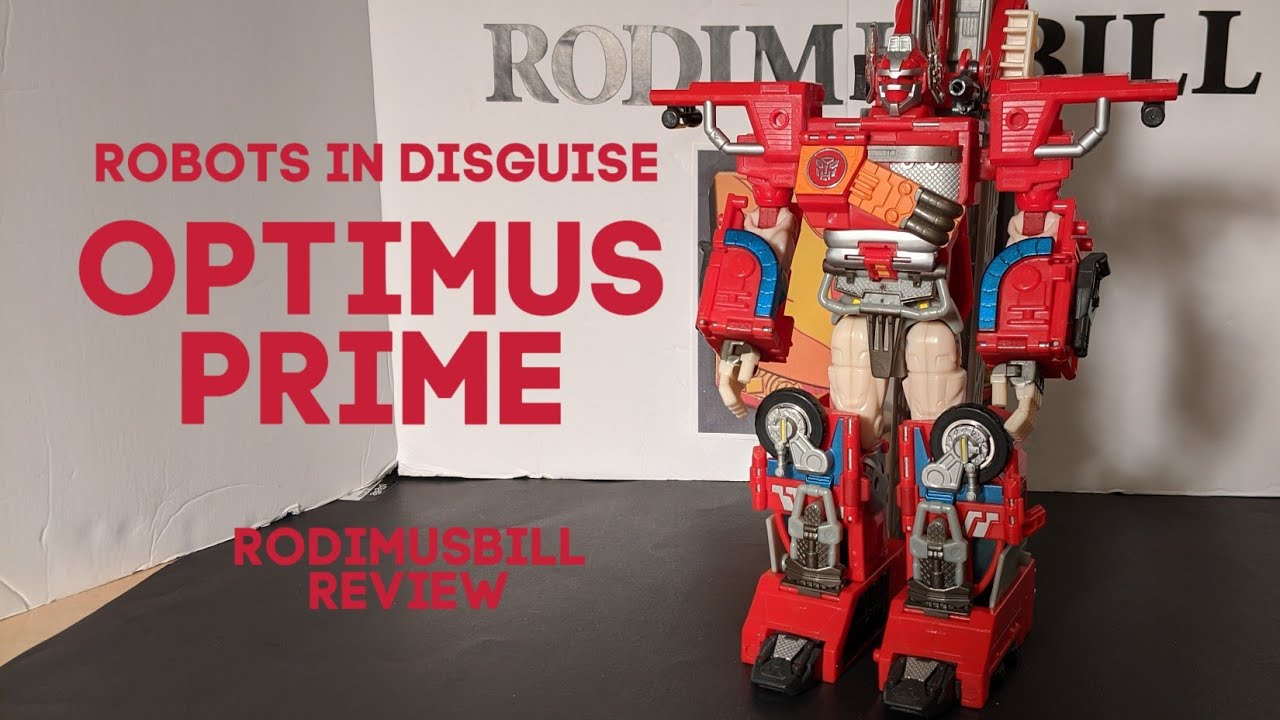 Transformers Robots In Disguise (2001) OPTIMUS PRIME Review By Rodimusbill