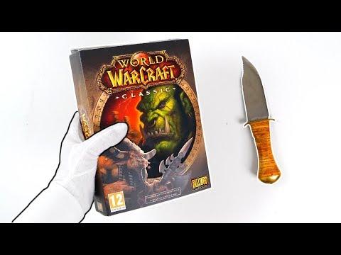 World Of Warcraft Classic Press Kit Unboxing (Ultra Rare)